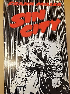 sin city graphic novel 1st edition frank miller