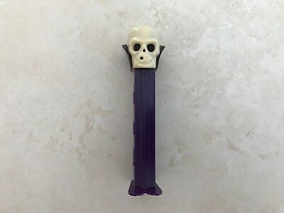 Vintage Halloween Skull Pez Dispenser with Feet - Yugoslavia