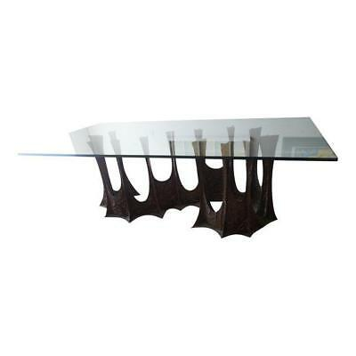 Paul Evans 1969 Stalagmite Signed Bronze Dining Table $50,000 Mid-Century Modern
