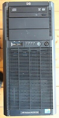 HP ML330 G6 Tower Server E5606 2.13GHz Xeon Quad Core; 36GB; no HDDs