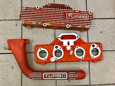 Lotus Esprit Turbo Plenum Chamber and inlet pipe - Red HC