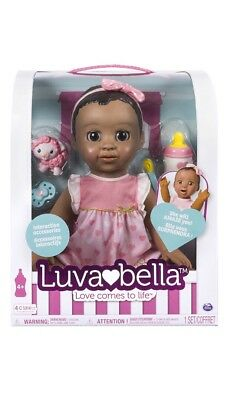 Luvabella Doll Dark Brown Hair - FAST SHIP 100% AUTHENTIC - BRAND NEW IN BOX