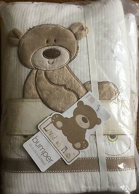 Mothercare Loved So Much Bumper For A Cot Or Cotbed. ** Bnip**