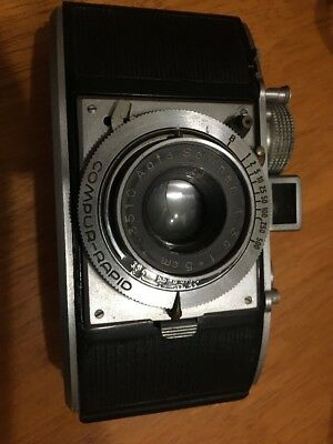 Agfa Karat German 35Mm. Film Camera With Fitted Case In Good Condition...1938