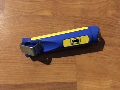 Mills Professional Cable Stripper 4 - 16mm Wire Stripping Tool Cutter