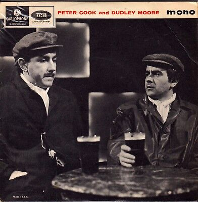 """Peter Cook And Dudley Moore Rare 7"""" Ep - 1965 Uk Release"""