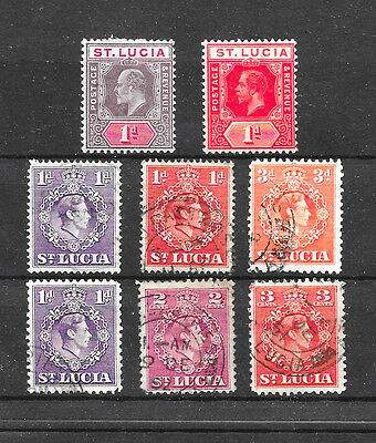 Old Stamps from ST LUCIA