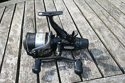 Shimano 6000 RA baitrunner reel,VGC with spare spool
