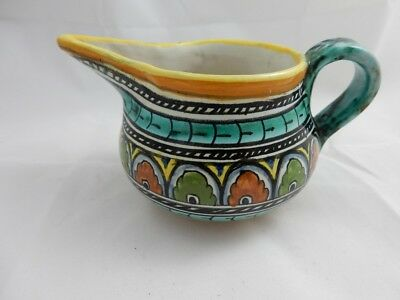 Lovely Majolica Faience Dervta Italy Jug - Excellent Condition - No Reserve