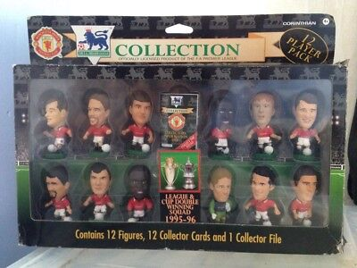 Corinthian Prostars Man United League and Cup Double Winning Squad 1995-96