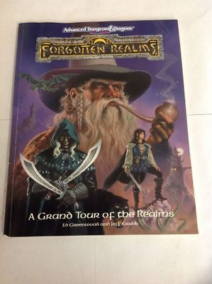 Advanced Dungeons & Dragons AD&D Forgotten Realms A Grand Tour of the Realms