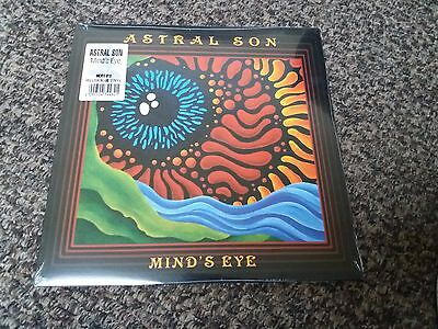 """Astral Son - Mind's Eye - Ltd 12"""" Yellow & Blue Vinyl Lp - New And Sealed"""