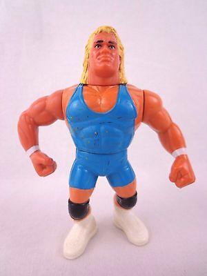 Vintage WWF Mr Perfect Blue Trunks Wrestling Action Figure Hasbro 1990s Rare