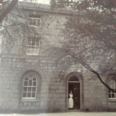 Vintage Old Photo/Photograph Early C20th Century Country House Devon Cornwall?