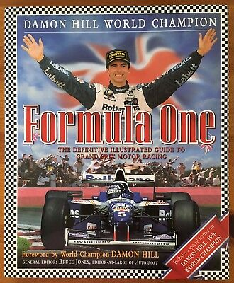 Formula One Definitive Illustrated Guide to Grand Prix Motor Racing