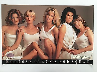 Melrose Place,bod Squad,rolling Stone Mag. Rare Authentic Licensed 1995  Poster