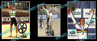 Cameron Meyer Aust Cycling Star Signed Photo +2 Photos