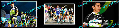 ROBBIE McEWEN AUST CYCLING CHAMP SIGNED PHOTO +2 PHOTOS