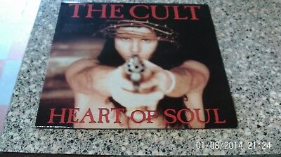 """The Cult Heart Of Soul Limited 12"""" Vinyl EP Beggars Banquet 1992"""
