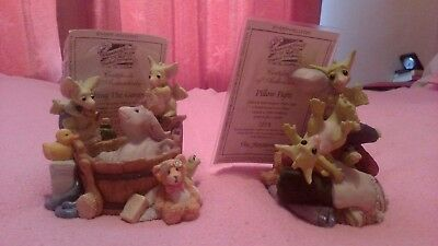 """pocket dragons - 2 Limited Editions - """"Pillow Fight"""" & """"Bathing The Gargoyle"""""""