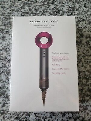 NEW DYSON Supersonic Hair Dryer iron fuchsia NEW In Box