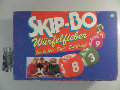 how to play skip bo dice
