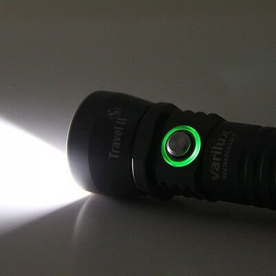 Northern Diver Varilux Travel 2 Rechargeble 1000 Lumens Powerful Led Dive Torch