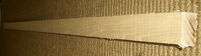 1 Stave Pipe kantel Hickory 175 cm 50x30 mm Bowmaking Robin Hood Long Bow Blank