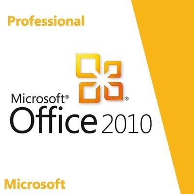 MS Office 2010 Pro Plus 32/64 lifetime key + installation CD + download link
