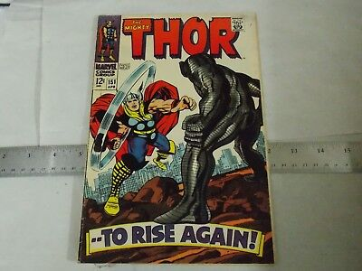 THOR # 151  FN 1968  SILVER AGE  Stan Lee/Jack Kirby   app.the DESTROYER