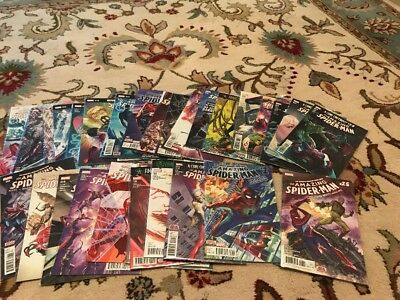AMAZING SPIDER-MAN 1-32 (2015 SERIES) VF/NM Comic Book Lot Complete Run