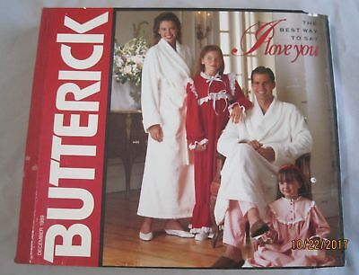 Butterick Huge December 1989 Sewing Pattern Retail Counter Catalog