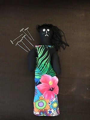 +Wicca Priestess Voodoo Amana Haunted Doll Active ~ Handmade by Witches