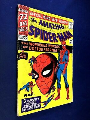 Amazing Spider-Man Annual #2 (1965 Marvel) Dr Strange appearance NO RESERVE