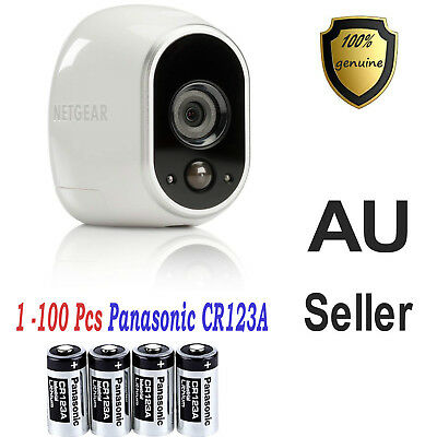 Panasonic 3V CR17345 CR123A  Lithium Battery CR123 DL123A EL123A for Arlo Camera