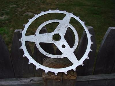 Cwc ? Western Flyer Sprocket Bicycle Vintage Old Balloon Tire Antique Bike Part