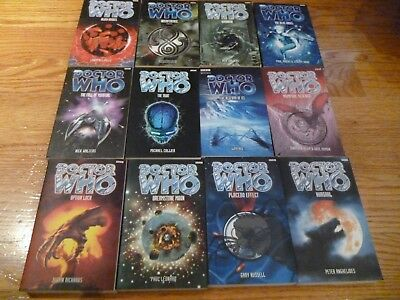 One lot of Doctor Who paperback books