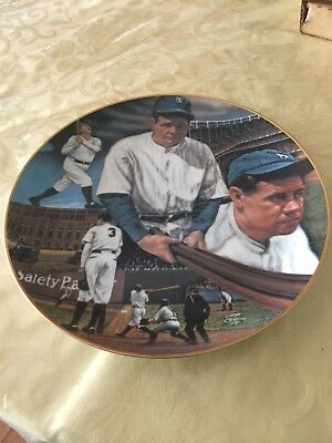 Sports Impressions Babe Ruth Plate