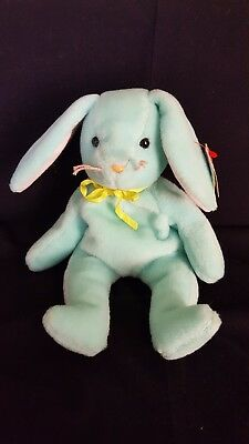 HIPPITY the Rabbit Rare TY Beanie Baby with Tag Errors and Rarities