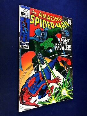 Amazing Spider-Man #78 (1969 Marvel Comics) 1st appearance Prowler NO RESERVE