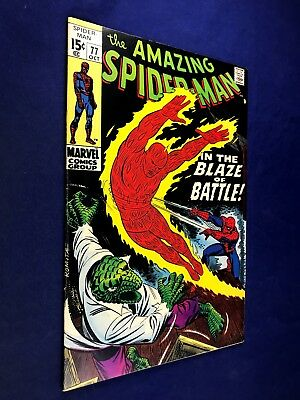 Amazing Spider-Man #77 (1969 Marvel Comics) The Lizard appearance NO RESERVE