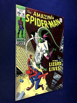 Amazing Spider-Man #76 (1969 Marvel Comics) The Lizard appearance NO RESERVE