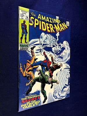 Amazing Spider-Man #74 (1969 Marvel Comics) Silvermane appearance NO RESERVE