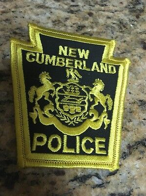 New Cumberland Police Shoulder Patch
