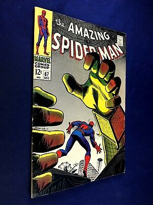 Amazing Spider-Man #67 (1968 Marvel Comics) 1st appearance of Randy Robertson