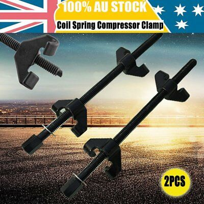2x Coil Spring Compressor Clamp Heavy Duty Quality Car Truck Auto Tool Set 380mm