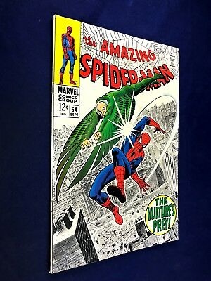 Amazing Spider-Man #64 (1968 Marvel Comics) Vulture appearance NO RESERVE