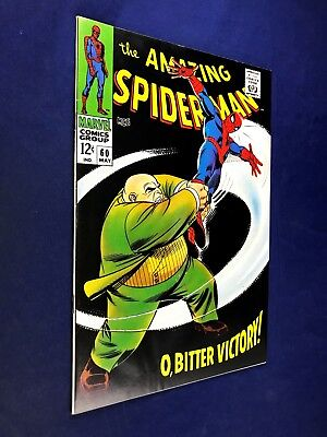 Amazing Spider-Man #60 (1968 Marvel Comics) Kingpin appearance NO RESERVE
