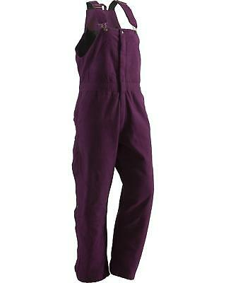 Berne Ladies Washed Insulated Bib Overalls - Reg. Tall - WB515PLMS_X