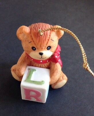 Vintage Enesco 1982 Lucy and Me Bear Ornament